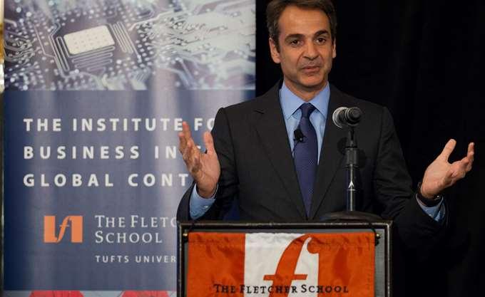 Κ. Μητσοτάκης: Η οικονομία το διακύβευμα που θα καθορίσει την έκβαση των εκλογών