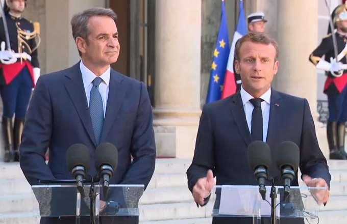 Προσκλητήριο Μητσοτάκη για γαλλικές επενδύσεις - Στήριξη Μακρόν για τις προκλήσεις της Τουρκίας