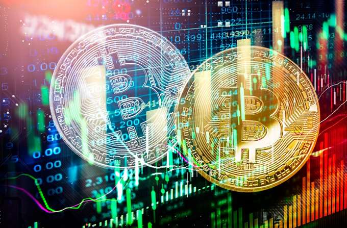 Bitcoin graph 15.02.2021