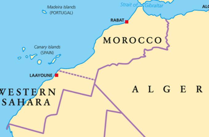 Μαρόκο Δυτική Σαχάρα