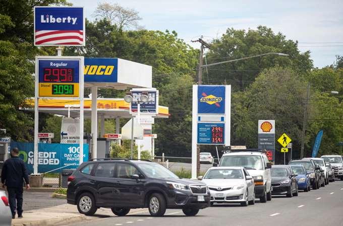 ΗΠΑ gas station 05/2021