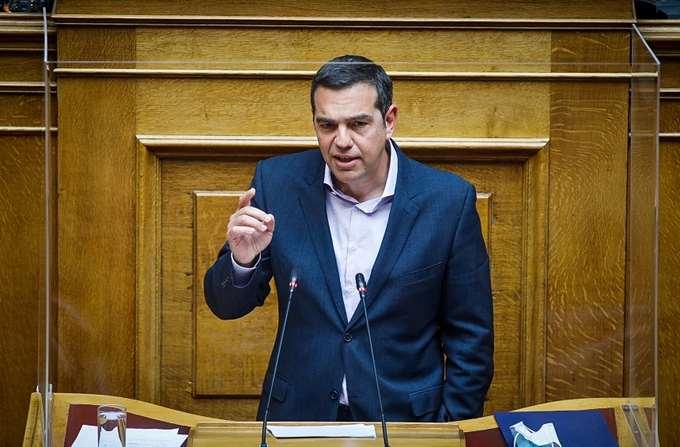 Τσίπρας - Βουλή 30.03.2021