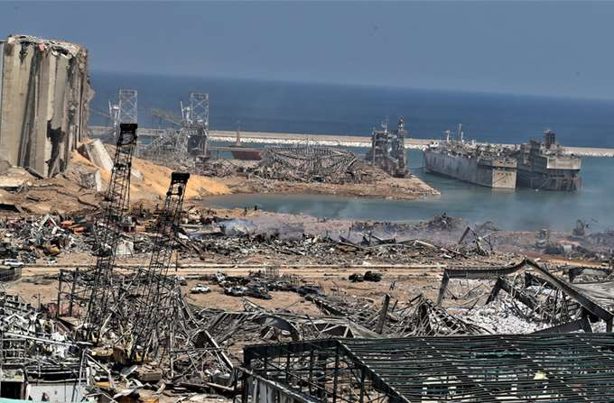 Βηρυτός εκρήξεις 08/2020