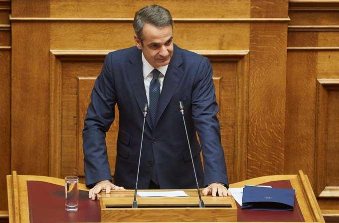 Μητσοτάκης Βουλή 10/2019