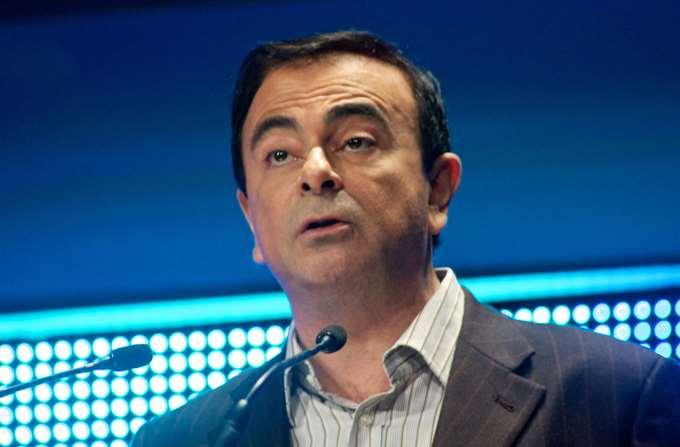 Carlos Ghosn Γκόσν Nissan